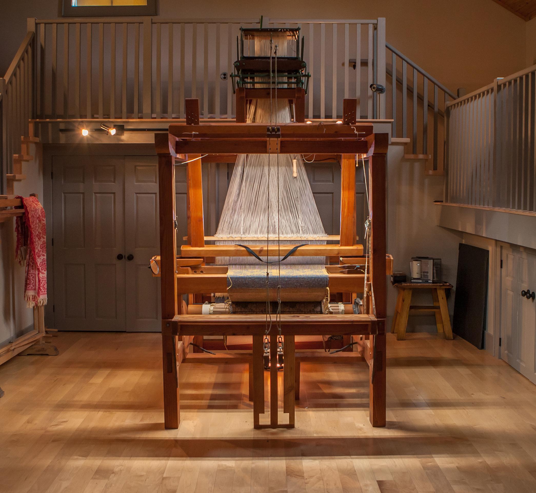 S  W  Lowry Weaver Shop & Jacquard Loom Interpretive Centre