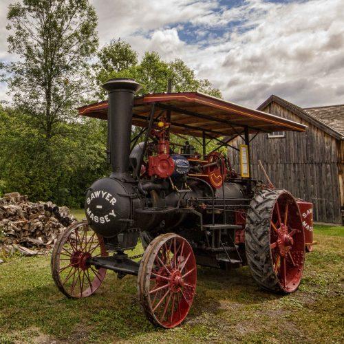 Sawyer-Massey Steam Engine
